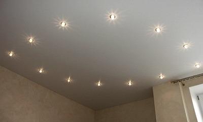 светильники под натяжной потолок светодиодные