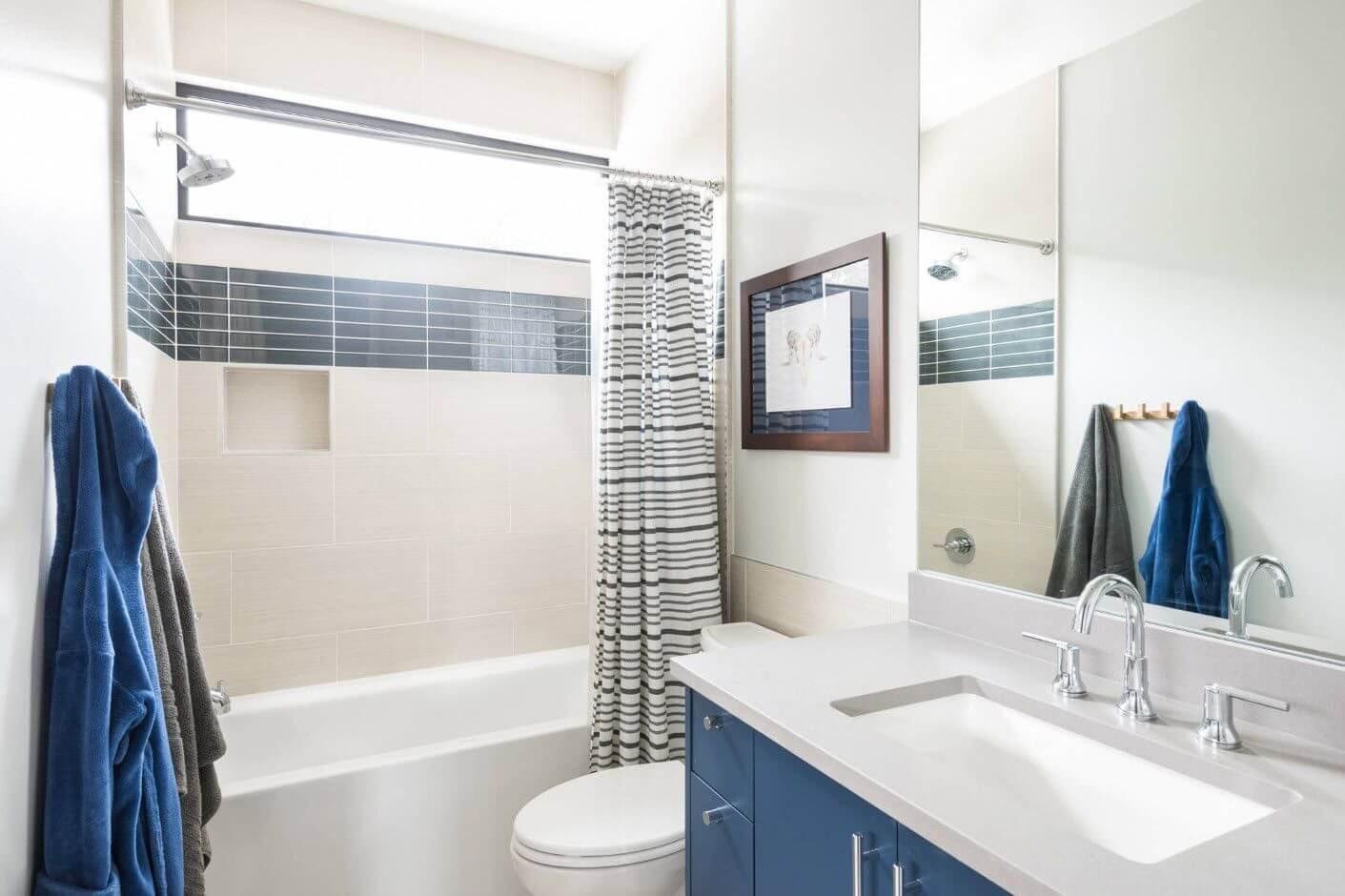 Создаем грамотный и простой дизайн ванной 5 кв м