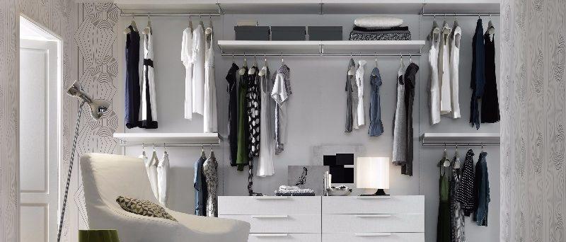Гардероб пакс (pax): идеи для интерьера маленькой комнаты