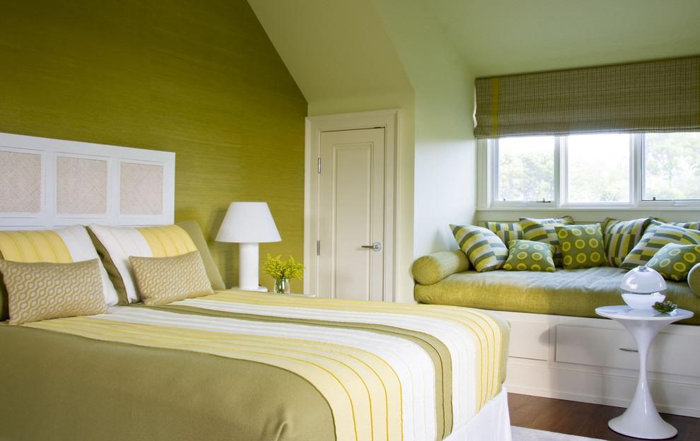 оливковый цвет стен