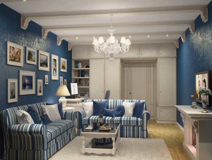 Цвет индиго в интерьере - 10 идей по оформлению – дизайн и дом