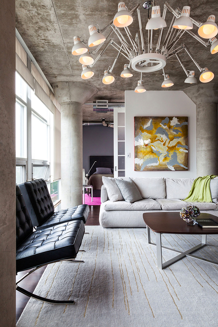 """Потолок в стиле """"лофт"""" (41 фото)"""