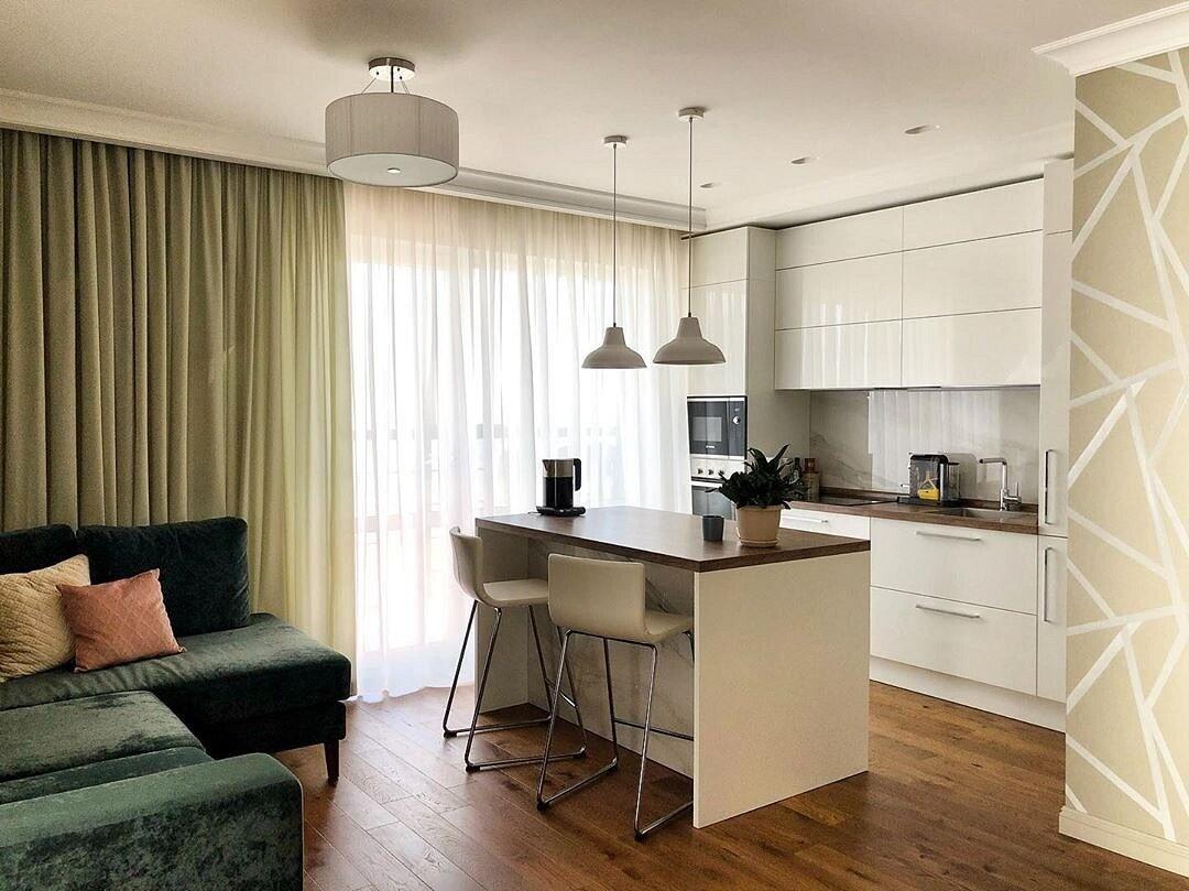 Дизайн кухни 15 кв. м: фото интерьеров и варианты планировки