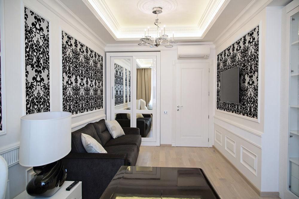 Белые обои: 105 фото трендовых дизайнерских вариантов оформления светлых стен