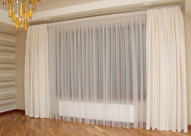 Как выбрать ширину тюля для штор: советы