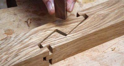 § 11. соединение деталей из древесины с помощью гвоздей