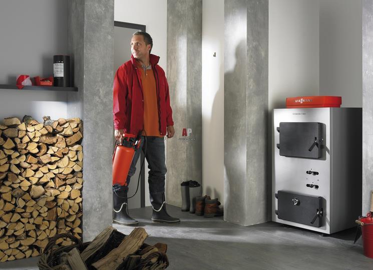 Схема отопления частного дома с твердотопливным котлом