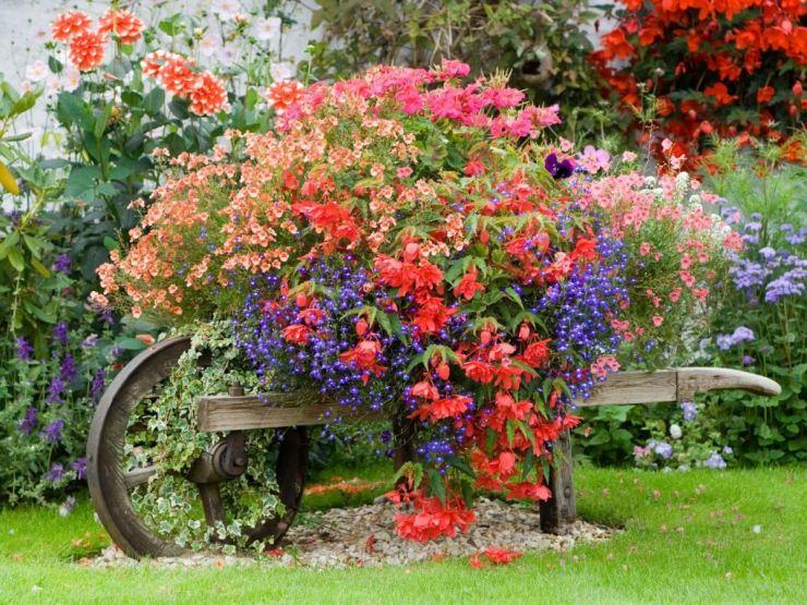 75 идей декора сада своими руками с примерами в фото