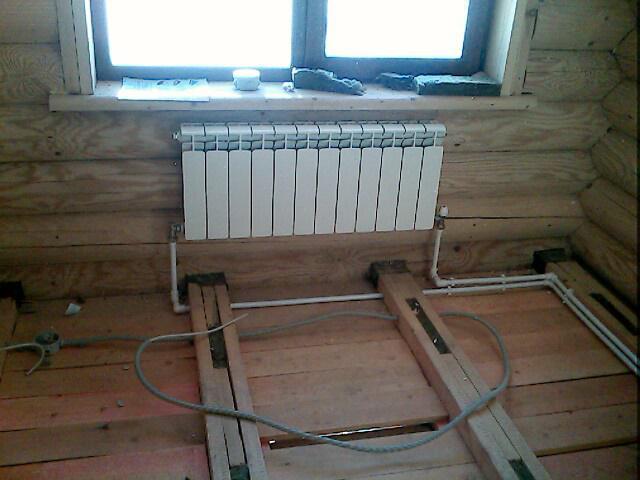 отопление загородного дома своими руками схемы