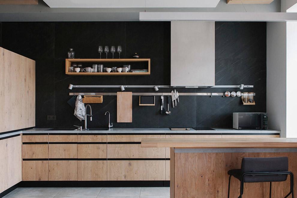 Кухонные фасады: разновидности и примеры дизайна