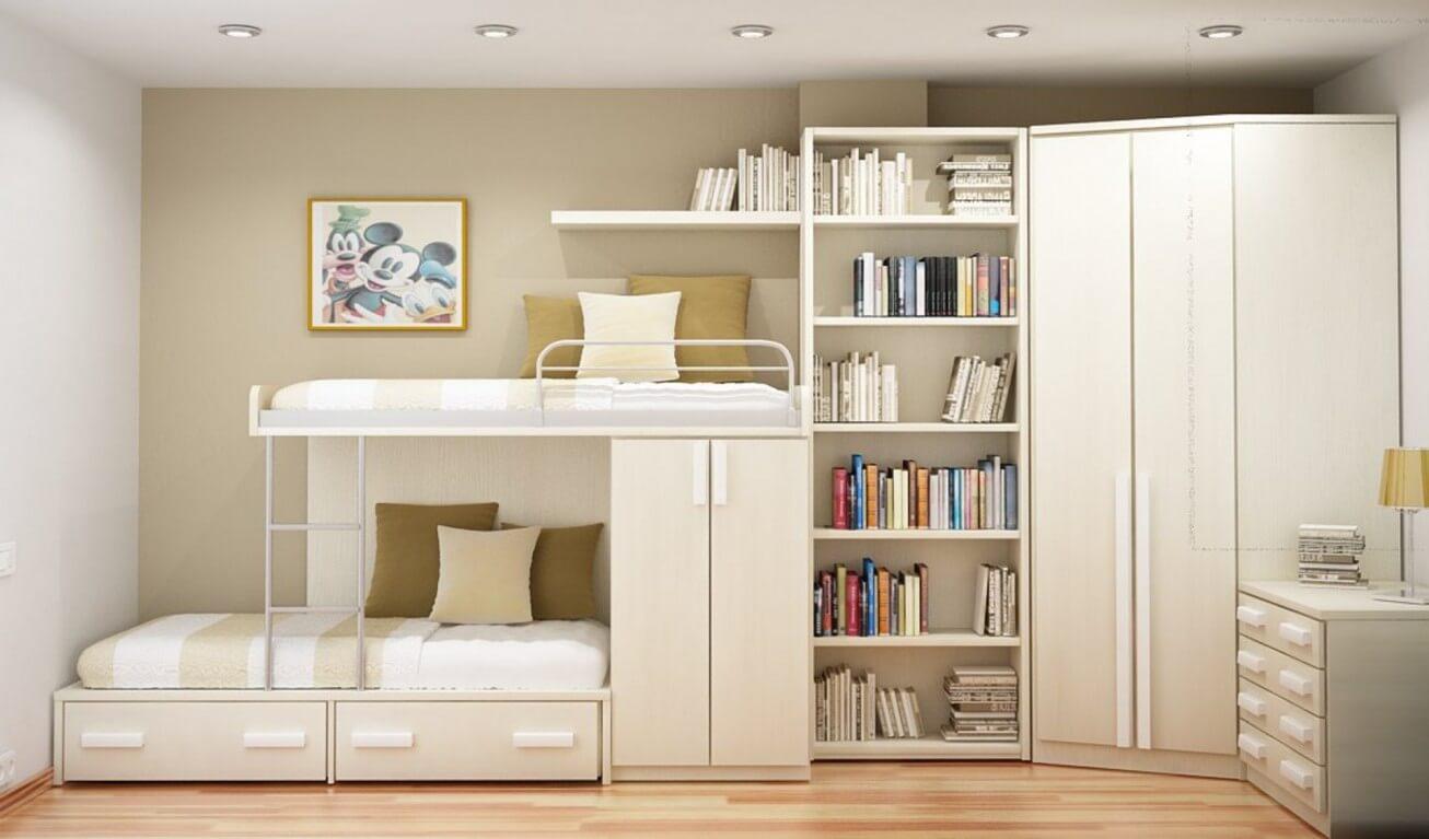 Двухъярусные кровати с диваном внизу – виды и их функционал