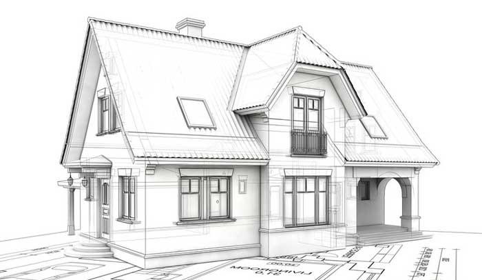 план этажа жилого дома