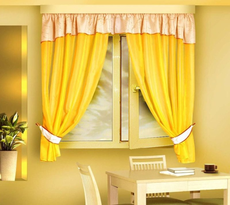 Неповторимые желтые шторы: яркий штрих в интерьере