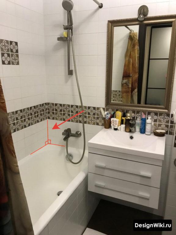Дизайн ванной комнаты в хрущевке: методы, сложности - 75 фото