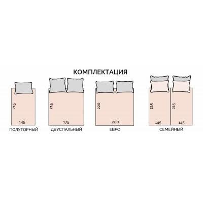 Размер 1,5 спального постельного белья - стандартные параметры   всё о тканях