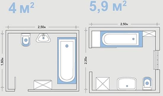 Размеры ванной комнаты: какие бывают и как подобрать оптимальный?