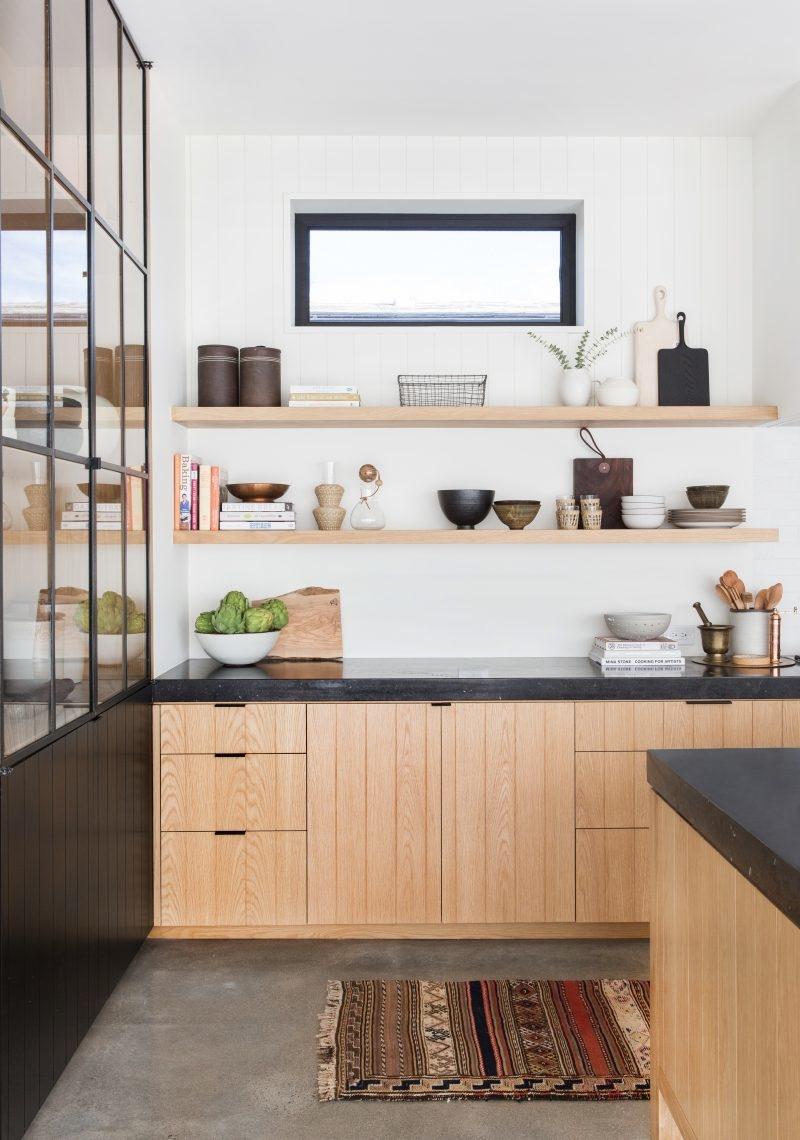 Кухня под дерево: варианты и элементы оформления интерьеров (85 фото)