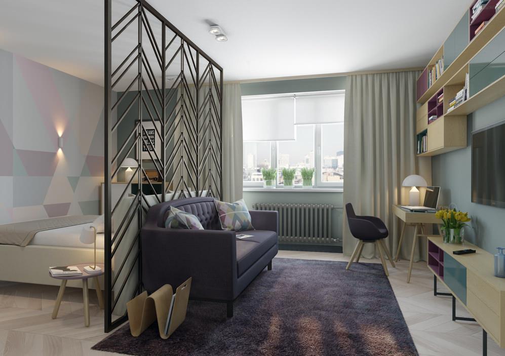 Дизайн 1-комнатной хрущевки – с чего начать? | интерьерные штучки