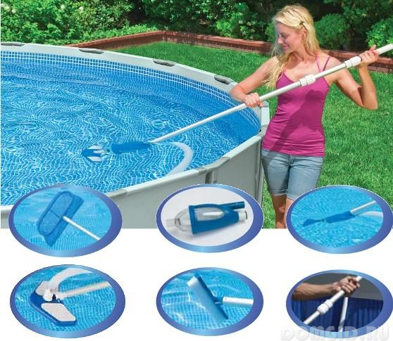 Как сложить бассейн?