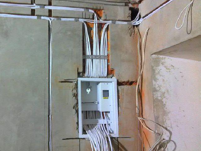 электрика в коттедже цены