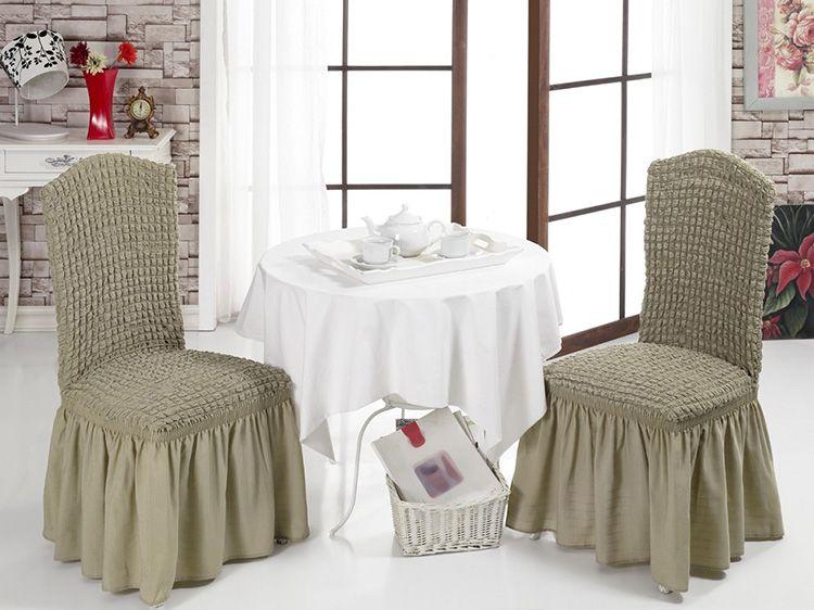Чехлы на стулья со спинкой: нюансы использования, выкройки, особенности выбора ткани, как сшить самому, варианты оформления интерьера