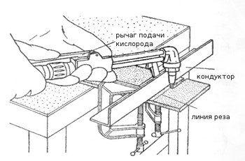 Газовый резак – как просто и быстро разрезать металл?