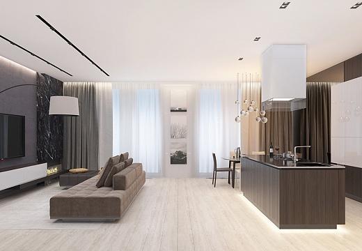 Дизайн интерьера дома +150 фото примеров интерьера