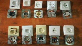 Розетки и выключатели: лучшие бренды и модели, монтаж