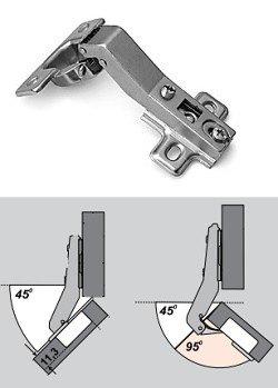 Как нужно устанавливать мебельную петлю