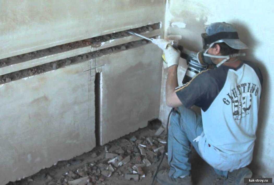 Штробление стен: технология выполнения монтажных работ своими руками. обзор лучших инструментов + советы для новичков!