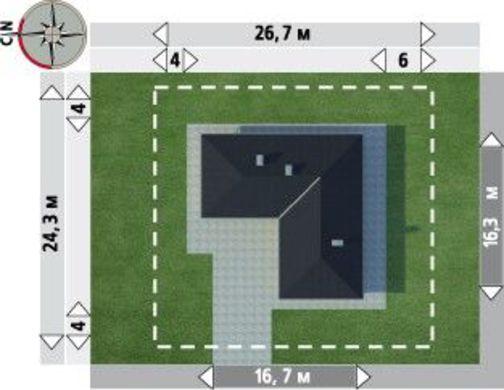 Одноэтажный дом буквой г – американская мечта о компактном жилье