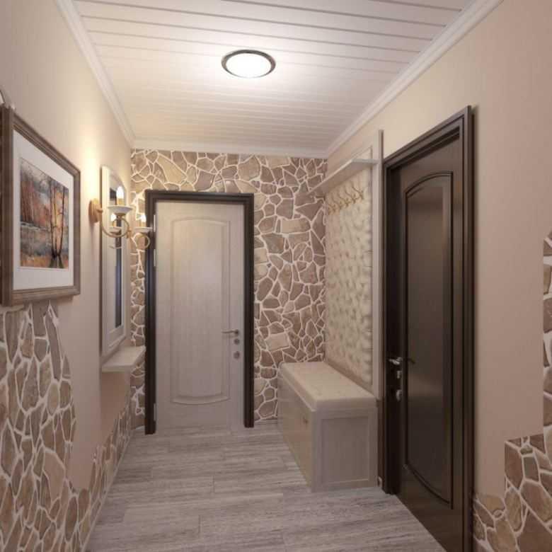дизайн коридора в квартире фото реальные
