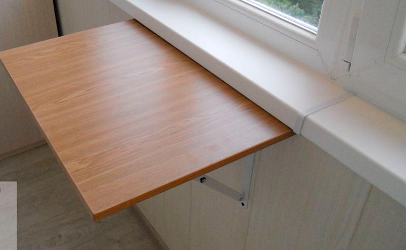 Стол на балконе (55 фото): складной столик и откидная столешница своими руками на лоджию