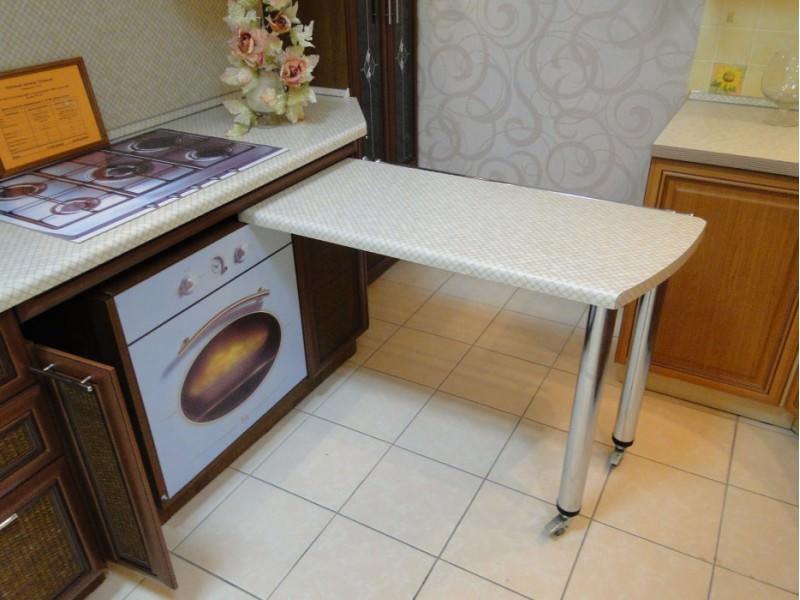 Выдвижной стол: 40 фото, идеи для кухни, гостиной, детской, спальни, кабинета