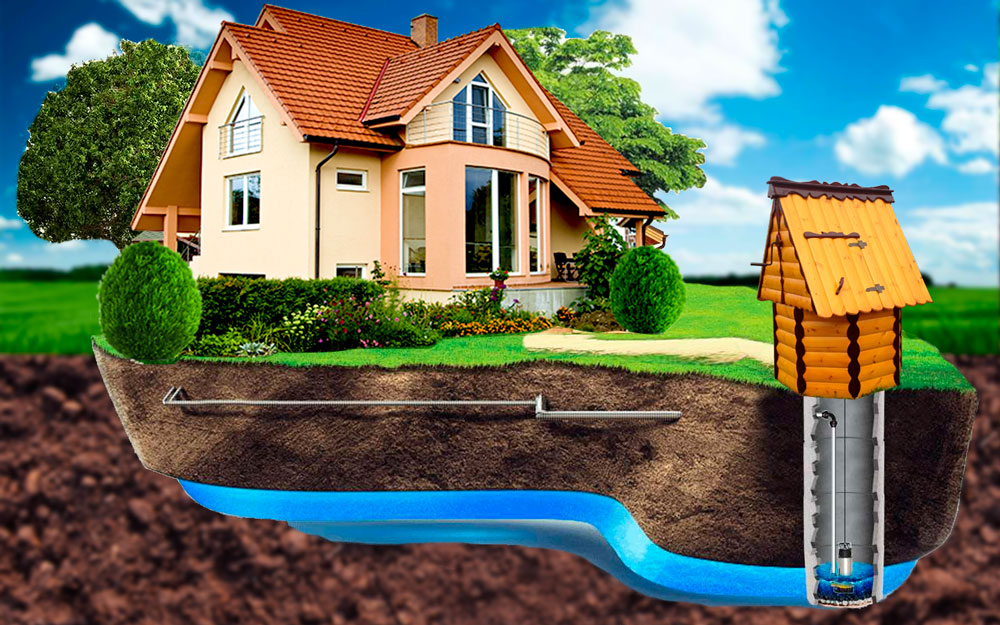 Водопровод в частном доме: разработка схемы, выбор труб, описание