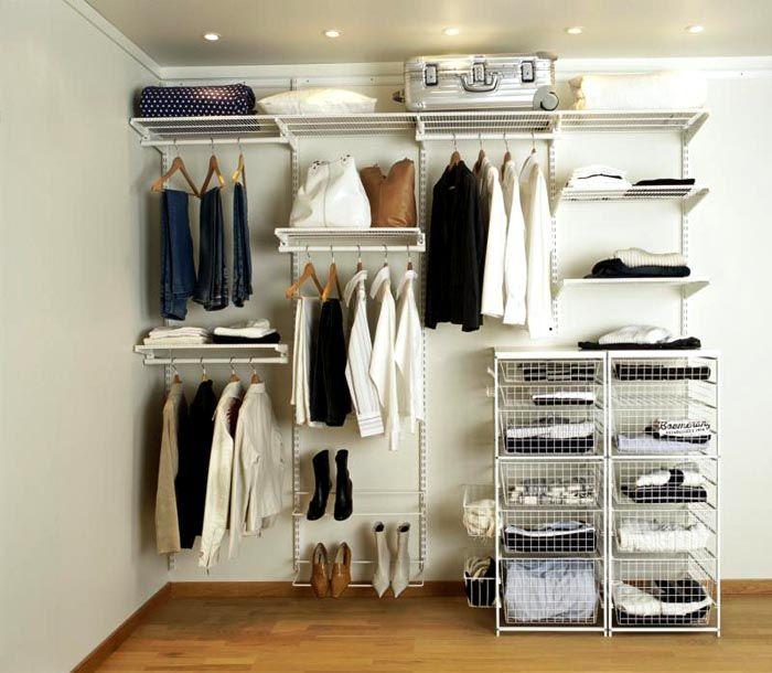 Системы хранения вещей для гардеробной: 4 типа, их плюсы и минусы, как выбрать