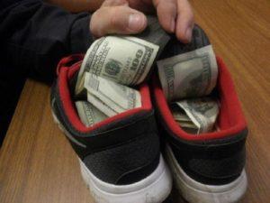 как спрятать деньги