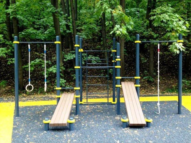 Детская площадка: идеи и проекты