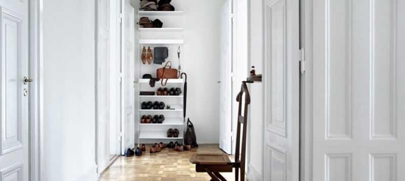 дизайн прихожей в квартире в современном стиле