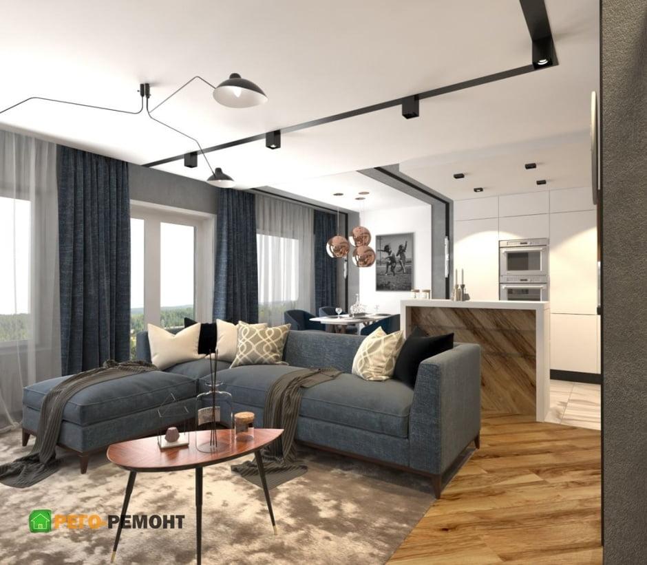 Дизайн зала в квартире — фото стильных интерьерных решений