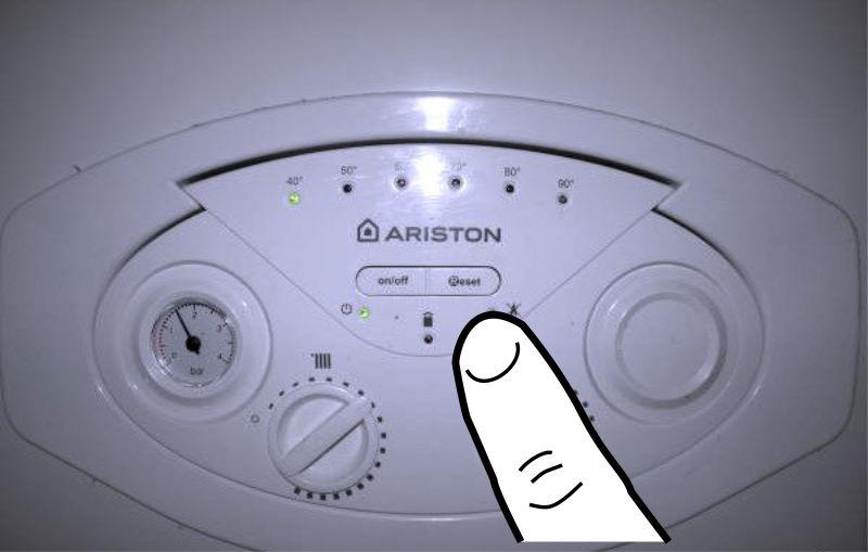 Что делать, если газовый котел ariston (аристон) выдает код ошибки 307