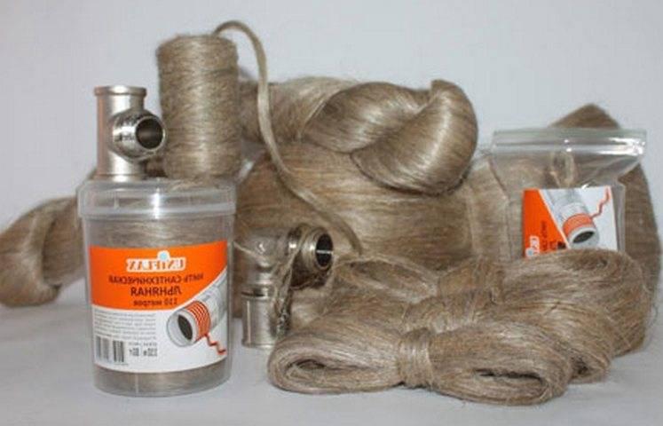 Намотка льна на резьбовые соединения с пастой. как наматывать лен на резьбу: подробная инструкция