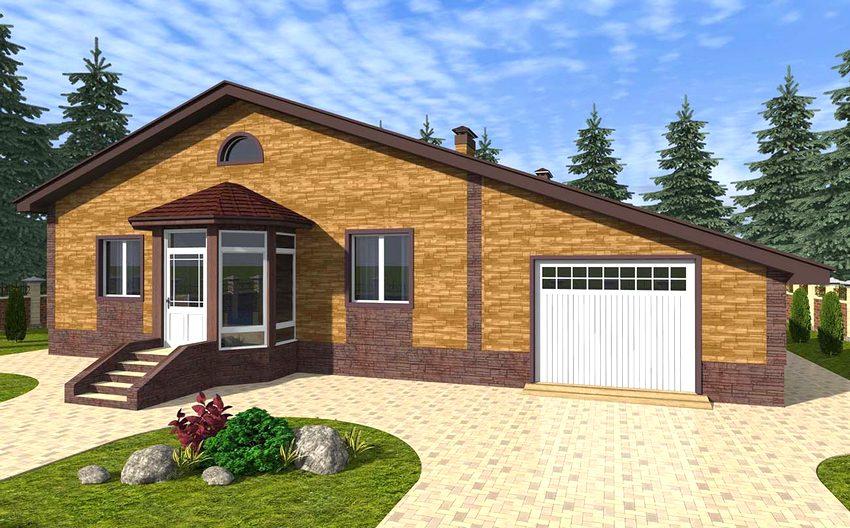 хаусберг проекты одноэтажных домов