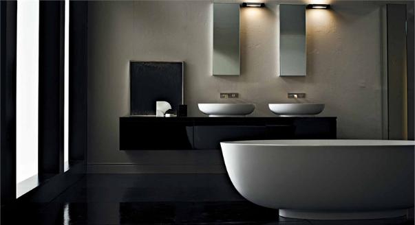 Ванная в стиле лофт: фото примеры оформления / zonavannoi.ru