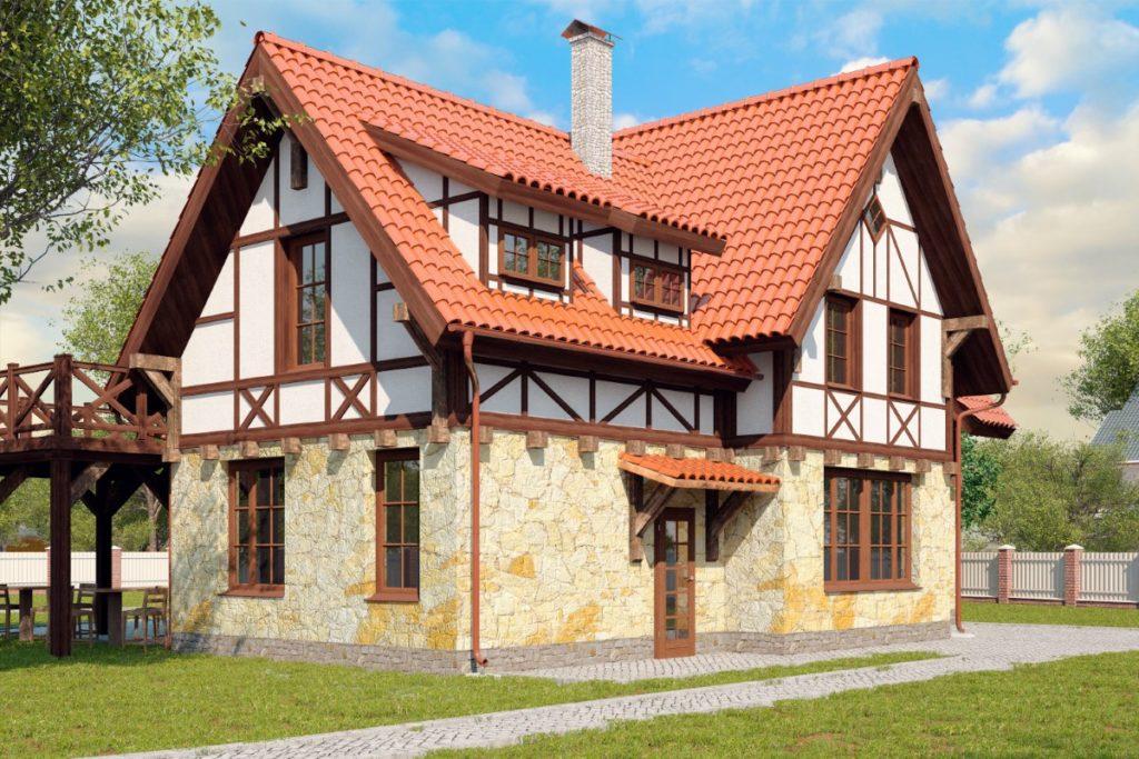 Фахверковый дом: характерные черты и особенности проекта