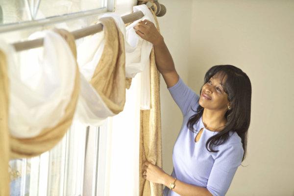 Как отбелить старую и пожелтевшую тюль в домашних условиях