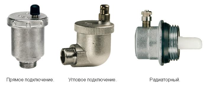 Автоматический воздухоотводчик: виды и принцип работы устройств для сброса воздуха из системы