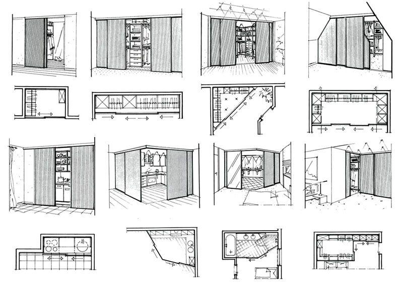 Сетчатые гардеробные системы, виды конструкций, материалы изготовления
