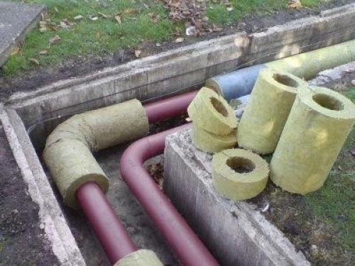 утепление труб водоснабжения на улице
