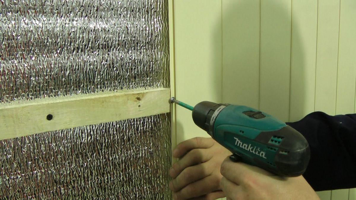 Фольгированный утеплитель для стен  плюсы и минусы, как крепить - все про гипсокартон